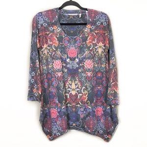 3/$25 Soft Surrounding Jersey knit light Sweater